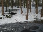 Brücke im winterlichen Park 2 (c) Frank Koebsch