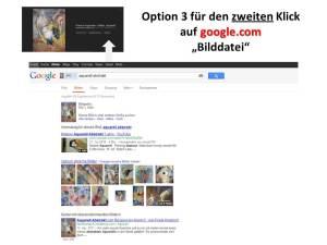 Google.com Bildersuche für den Suchbegriff Kranich - Option 3