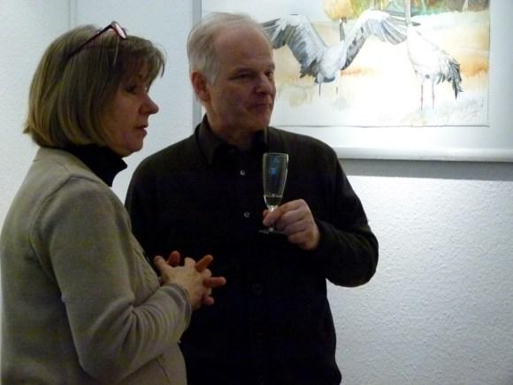 Aufmerksame Besucher (c) Maike Josupeit