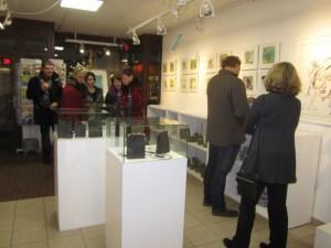 Besucher der Galerie Severina (c) Susanne Haun