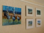 Druck eines Aquarell auf Acryl in unserer Galerie (c) Frank Koebsch