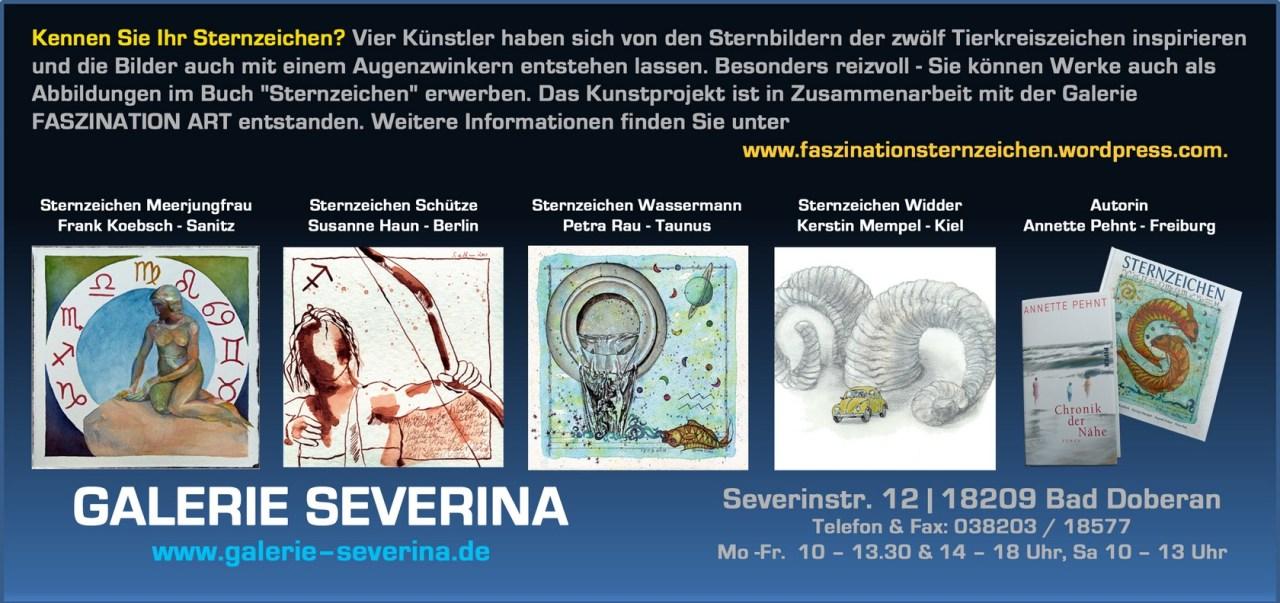 Kennen Sie Ihr Sternzeichen ? - Ausstellung in der Galerie Severina