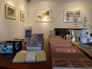 Kranich Aquarelle in der Galerie FASZINATION ART (c) Frank Koebsch (2)