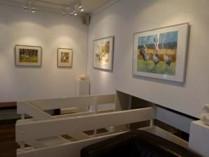 Kranich Aquarelle in der Galerie FASZINATION ART (c) Frank Koebsch (4)