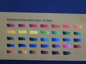 MISSION Gold Class Water Colours Set von von Mijello (c) Frank Koebsch (2)