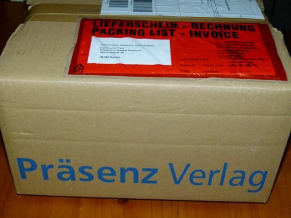 Post vom Präsenz Verlag (c) Frank Koebsch