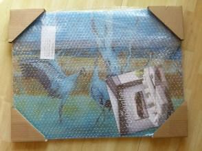 Spannend der Druck meines Aquarells wurde geliefert (c) Frank Koebsch