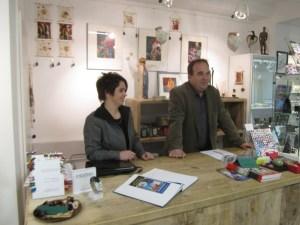 zufriedene Galeristen (c) Susanne Haun