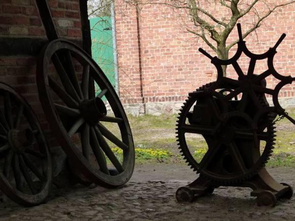Alte Schmiede in im Freilichtmuseum Schwerin-Mueß (c) Frank Koebsch