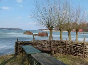 Blick über den Schweriner See bei Mueß (c) Frank Koebsch