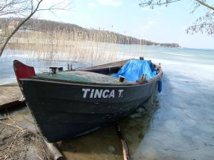 Mueßer Fischerboot am Schweriner See (c) Frank Koebsch