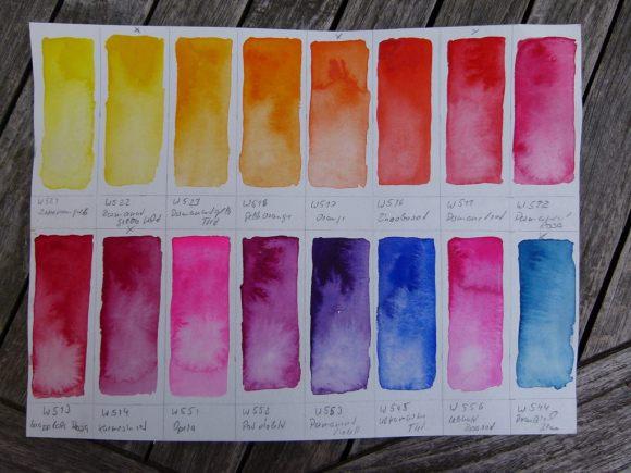 Palette der Aquarellfarben von Mijello (c) FRank Koebsch (2)