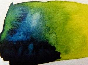 Preußisch Blau W544 und Permanent, gelbes Licht W522 (c) FRank Koebsch
