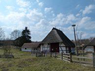 reetgedeckte Fachwerkhäuser in Mueß (c) Frank Koebsch (1)