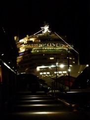 AIDA bella bei Nacht in Oslo (c) Frank Koebsch