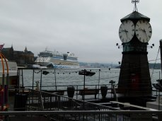 AIDA bella im Hafen Oslos (c) Frank Koebsch