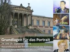 Aquarellkurs: Grundlagen für das Portrait mit Frank Koebsch