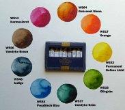 ausgewählte Farbpalette von Mijello von Frank Koebsch