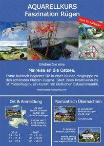 Malreise Faszination Rügen mit Frank Koebsch