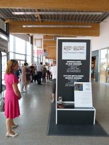 Die Adem Galerie auf dem Kunstsommer 2013 im Ostsee Park Rostock (c) FRank Koebsch
