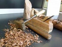 Werkzeug von Helmut Storch – Holzbildhauer im Ostsee Park Roctock (c) Frank Koebsch (1)