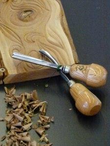 Werkzeug von Helmut Storch – Holzbildhauer im Ostsee Park Roctock (c) Frank Koebsch (3)