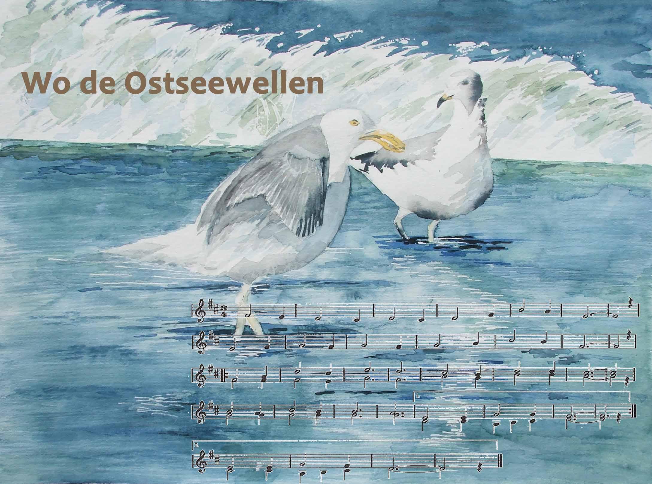 Wo de Ostseewellen ....