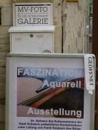 Ausstellung Faszination Aquarell in der Galerie MV - Foto (c) Frank Koebsch