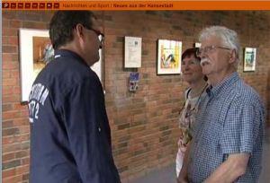 Frank Koebsch bei der Eröffnung der Ausstellung Faszination Kraniche (c) tv.rostock (2)