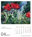 Kalenderblatt April 2014