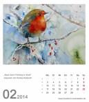 Kalenderblatt Februar 2014