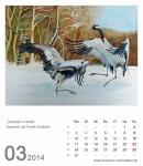 Kalenderblatt März 2014