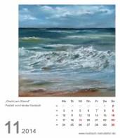 Kalenderblatt November 2014