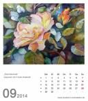 Kalenderblatt September 2014