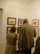 Malschüler und Gäste in der Ausstellung Faszination Aquarell (c) FRank Koebsch (3)