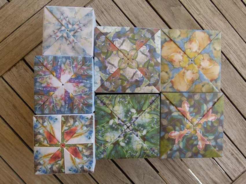 Origami Faltkunst von Gabriele Schöneweiß (c) Frank Koebsch