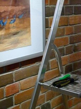 Werkzeug für das Hängen der Bilder (c) Frank Koebsch (2)