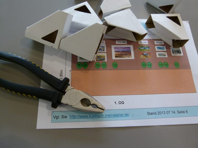 Werkzeug für das Hängen der Bilder (c) Frank Koebsch (3)