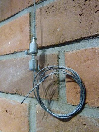 Zu Beginn eine leere Wand (c) Frank Koebsch