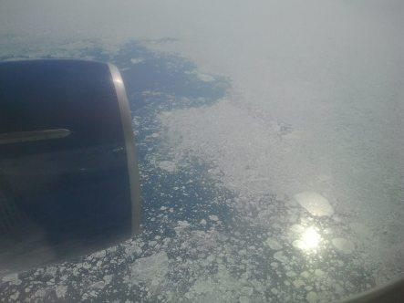 auf dem Weg nach Seattle - Eisfelder des Polarmeeres (c) Frank Koebsch (2)