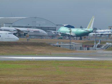 Flugzeuge von Boing warten auf die Auslieferung in Everett (c) Frank Koebsch (2)
