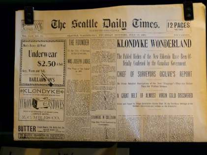 Pioneer Square Seattle - Museum über den Klondike Gold Rush (c) Frank Koebsch (4)
