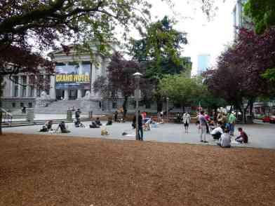 Vancouver - Schachspieler vor der Vancouver Art Gallery (c) Frank Koebsch (3)
