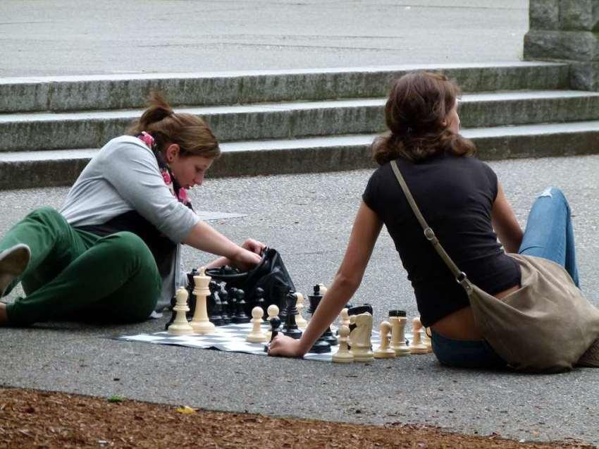 Vancouver - Schachspieler vor der Vancouver Art Gallery (c) Frank Koebsch (4)