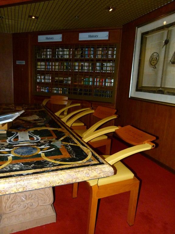 Bibliothek der MS Zaandam (c) Frank Koebsch (3)
