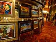 Galerie und Kunstauktion auf der MS Zaandamm (c) Frank Koebsch (1)