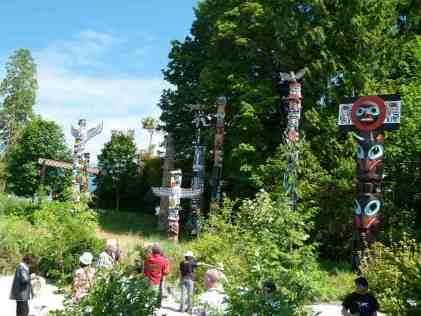 Vancouver - Totel Poles im Stanley Park (c) FRank Koebsch (1)