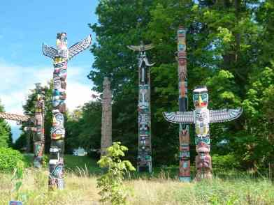 Vancouver - Totel Poles im Stanley Park (c) FRank Koebsch (3)