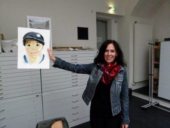 Berechtigt Stolz auf das Portrait (c) Frank Koebsch