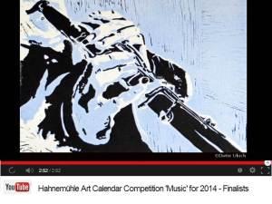 Dieter Ulrich - Finalist im Hahnemühle Kalenderwettbewerb 2014